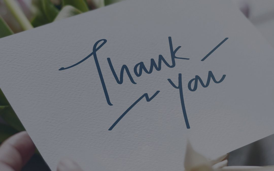 Card of Thanks